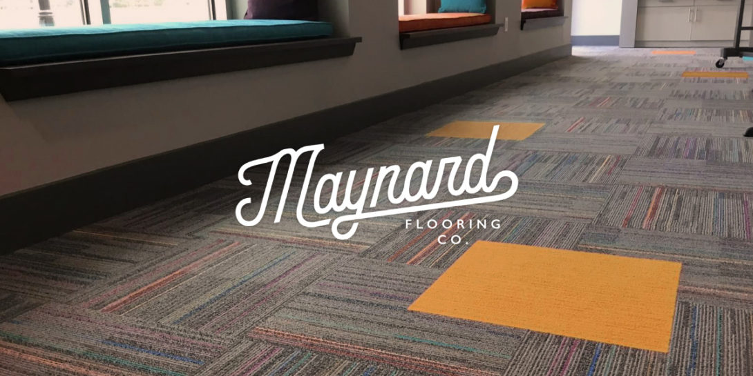 Maynard Flooring branded website imagery, created by Šek Design Studio