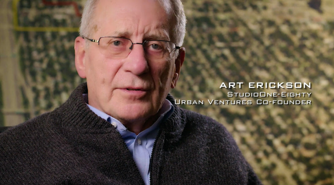 Highway of Hope's Art Erickson video clip, website created by Šek Design Studio